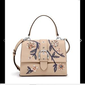 Handbag or cross body light beige new with dustbag